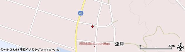 山形県東田川郡庄内町添津諏訪下56周辺の地図