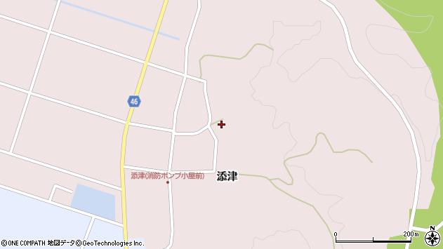 山形県東田川郡庄内町添津諏訪下81周辺の地図