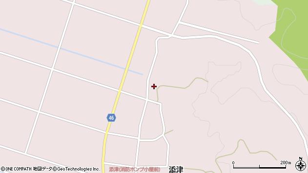 山形県東田川郡庄内町添津家ノ下112周辺の地図