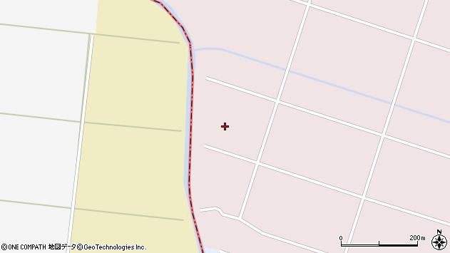 山形県東田川郡庄内町三ケ沢板橋周辺の地図