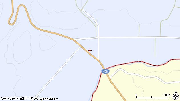 山形県最上郡鮭川村川口2062周辺の地図