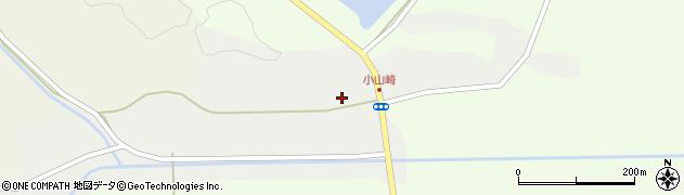 宮城県栗原市栗駒芋埣周辺の地図