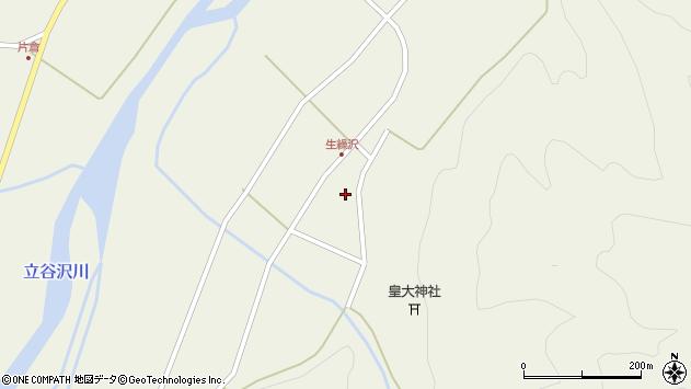 山形県東田川郡庄内町肝煎下山本32周辺の地図