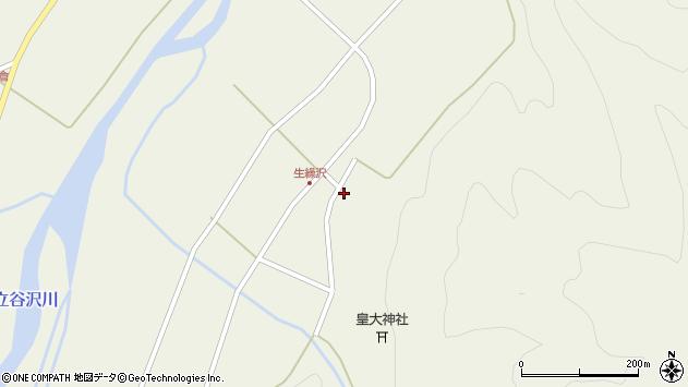 山形県東田川郡庄内町肝煎下山本38周辺の地図