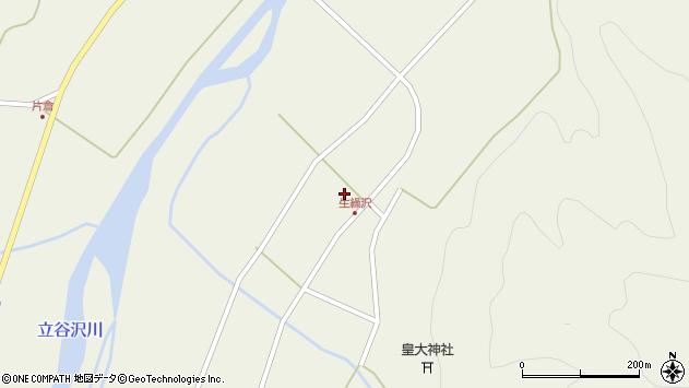 山形県東田川郡庄内町肝煎石田周辺の地図