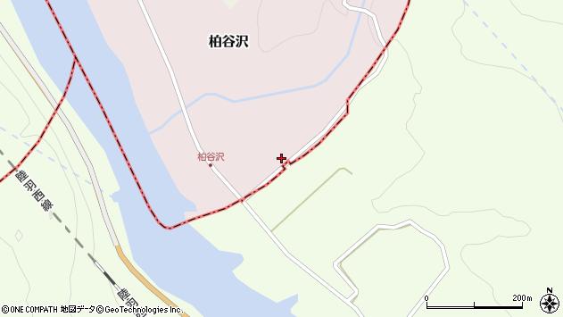 山形県酒田市柏谷沢水上沢42周辺の地図