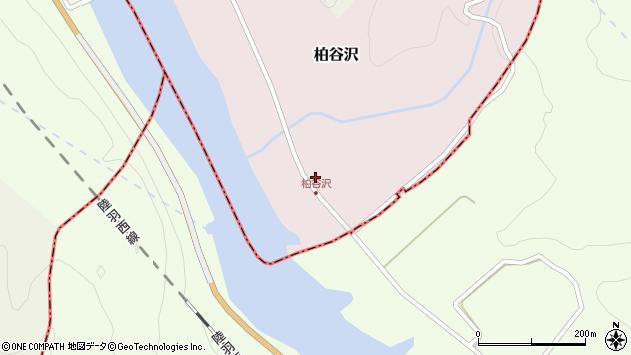山形県酒田市柏谷沢水上沢32周辺の地図