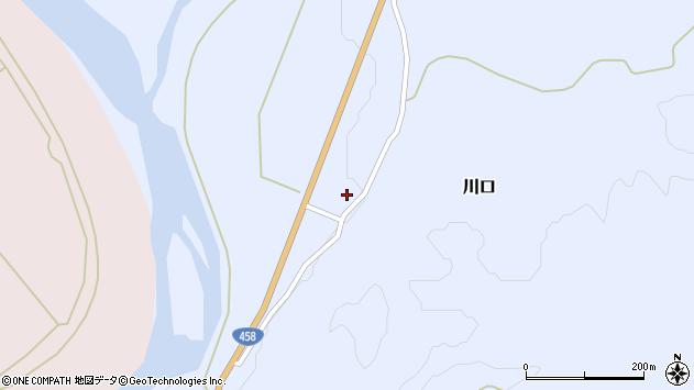 山形県最上郡鮭川村川口1781周辺の地図