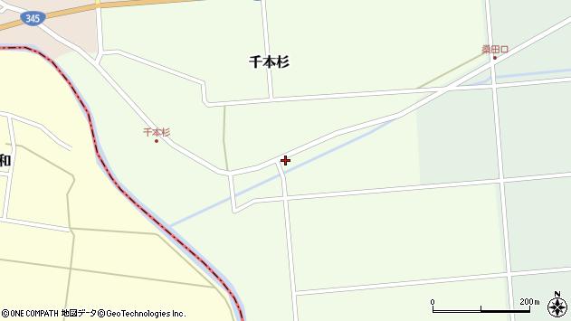 山形県東田川郡庄内町千本杉本村割28周辺の地図