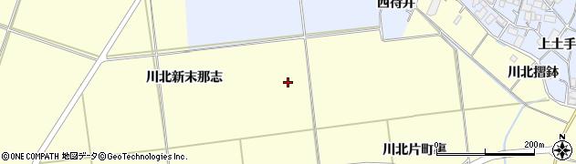 宮城県栗原市若柳川北新五反田周辺の地図