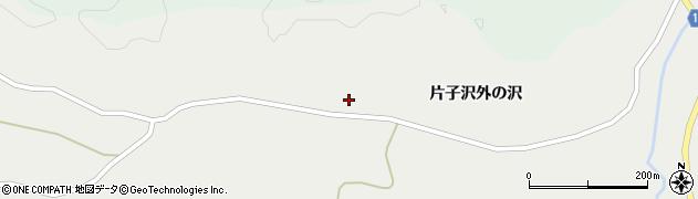 宮城県栗原市一迫片子沢兎沢周辺の地図