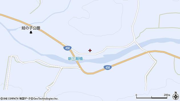 山形県最上郡鮭川村川口289周辺の地図