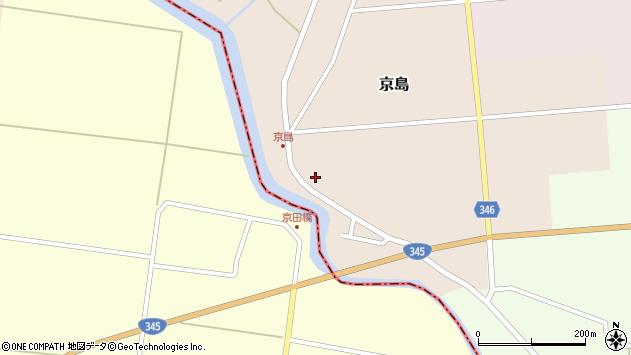 山形県東田川郡庄内町京島海道端81周辺の地図