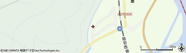 山形県東田川郡庄内町清川上川原6周辺の地図