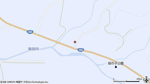 山形県最上郡鮭川村川口259周辺の地図