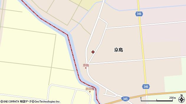 山形県東田川郡庄内町京島京田82周辺の地図