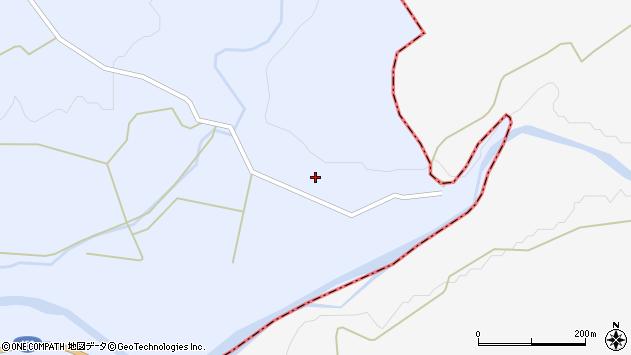 山形県最上郡鮭川村川口497周辺の地図