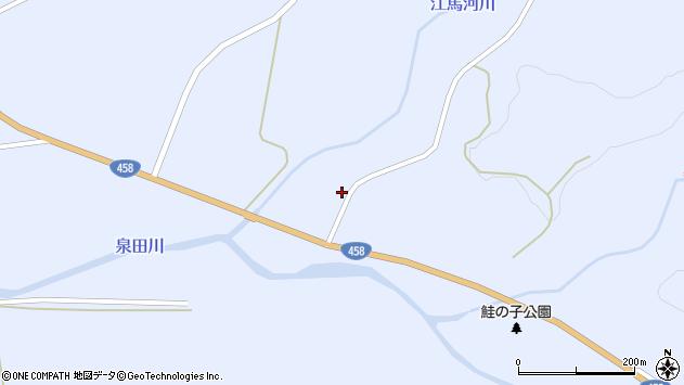 山形県最上郡鮭川村川口257周辺の地図