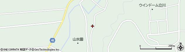 山形県東田川郡庄内町狩川玉坂22周辺の地図