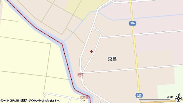 山形県東田川郡庄内町京島京田67周辺の地図