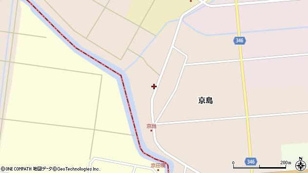 山形県東田川郡庄内町京島京田76周辺の地図