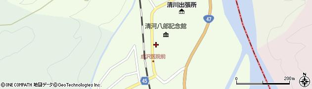 山形県東田川郡庄内町清川上川原36周辺の地図
