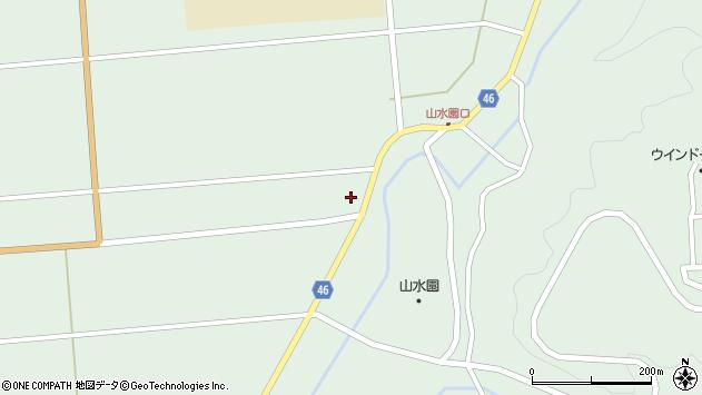 山形県東田川郡庄内町狩川玉坂111周辺の地図