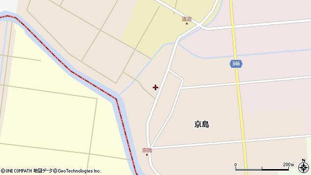 山形県東田川郡庄内町京島京田56周辺の地図