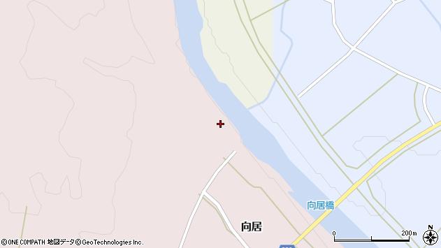 山形県最上郡鮭川村向居33周辺の地図