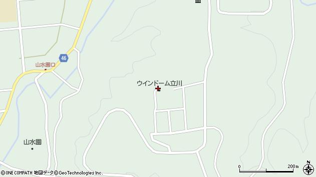 山形県東田川郡庄内町狩川笠山444周辺の地図