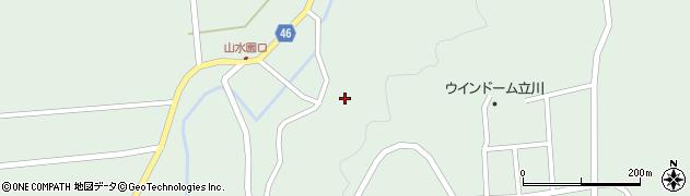 山形県東田川郡庄内町狩川玉坂8周辺の地図