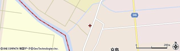 山形県東田川郡庄内町京島京田50周辺の地図