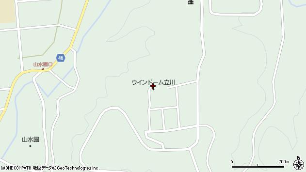 山形県東田川郡庄内町狩川笠山周辺の地図