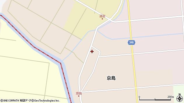山形県東田川郡庄内町京島京田45周辺の地図