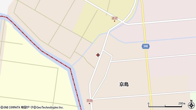 山形県東田川郡庄内町京島京田49周辺の地図