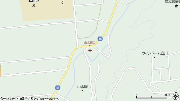山形県東田川郡庄内町狩川玉坂27周辺の地図