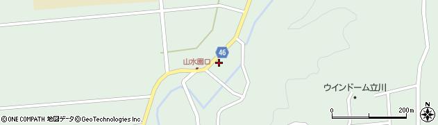 山形県東田川郡庄内町狩川玉坂29周辺の地図