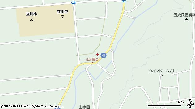 山形県東田川郡庄内町狩川玉坂46周辺の地図