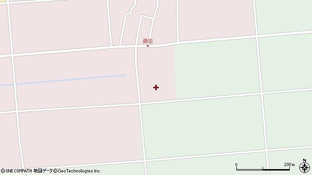 山形県東田川郡庄内町桑田高口3周辺の地図