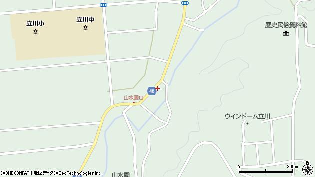 山形県東田川郡庄内町狩川玉坂35周辺の地図