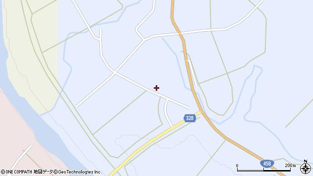 山形県最上郡鮭川村川口957周辺の地図