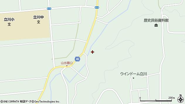 山形県東田川郡庄内町狩川阿古屋9周辺の地図