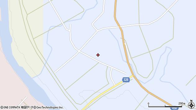 山形県最上郡鮭川村川口982周辺の地図