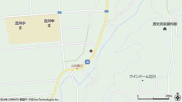 山形県東田川郡庄内町狩川阿古屋5周辺の地図