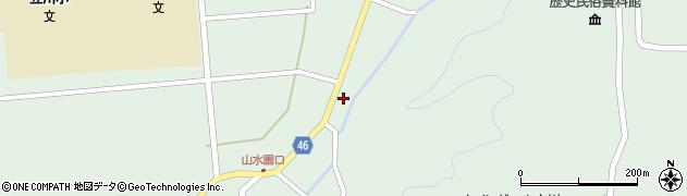 山形県東田川郡庄内町狩川阿古屋8周辺の地図
