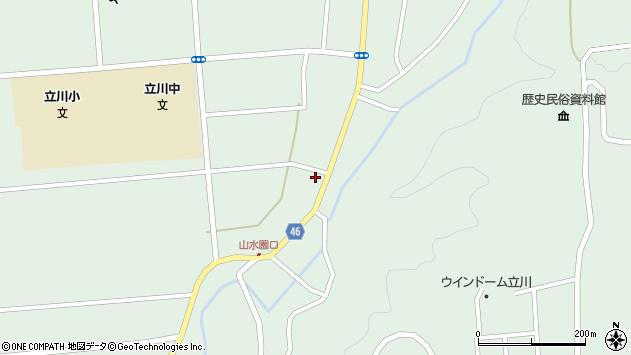 山形県東田川郡庄内町狩川阿古屋11周辺の地図