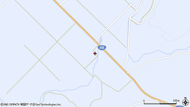 山形県最上郡鮭川村川口3399周辺の地図