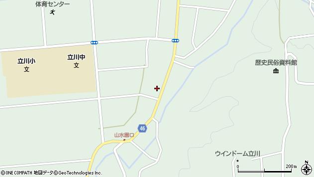 山形県東田川郡庄内町狩川阿古屋22周辺の地図