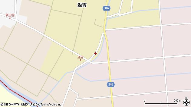山形県東田川郡庄内町返吉高口1周辺の地図