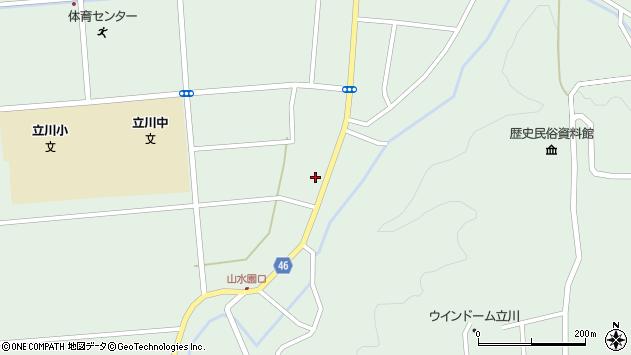 山形県東田川郡庄内町狩川阿古屋23周辺の地図